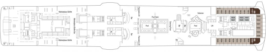 MSC Bellissima Deck 15