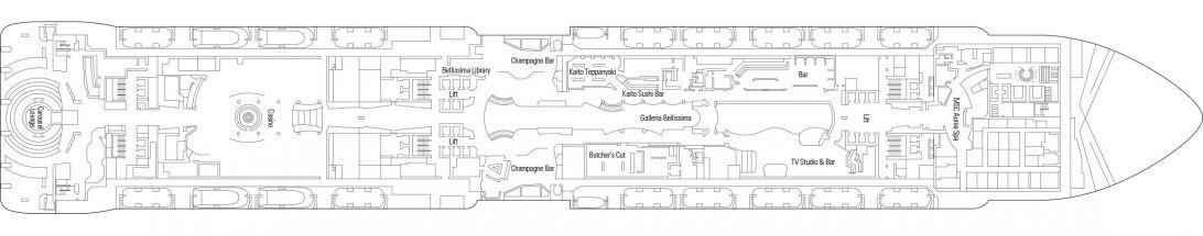 MSC Bellissima Deck 7
