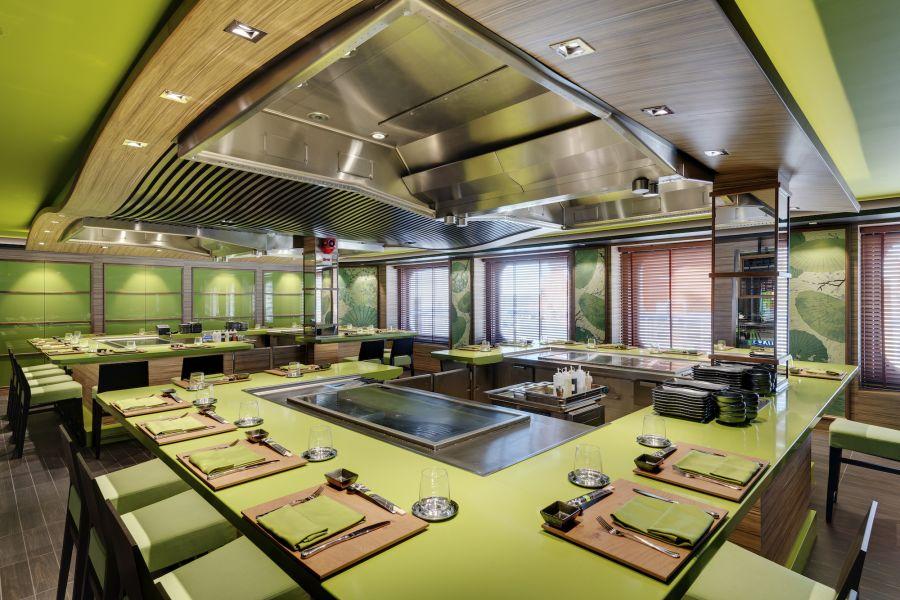 MSC Bellissima-dining-Kaito Teppanyaki Restaurant & Sushi Bar