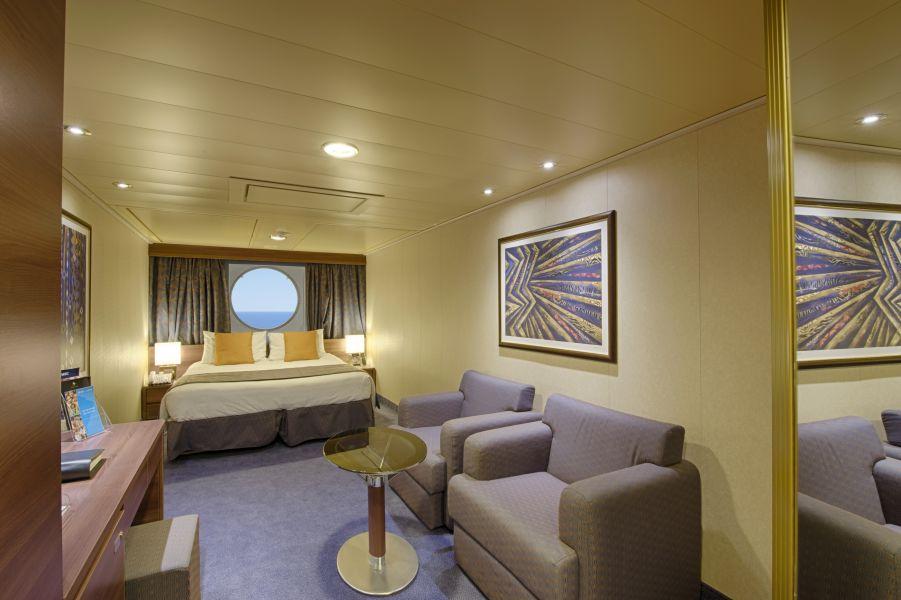 MSC Divina-stateroom-Ocean View Cabin