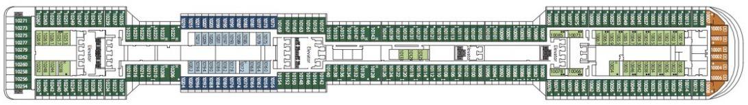 MSC Divina Deck 10 - Giunone