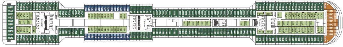 MSC Divina Deck 11 - Iride