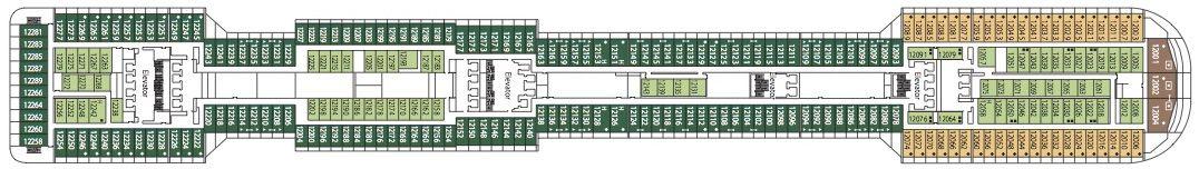 MSC Divina Deck 12 - Aurora