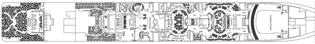 MSC Divina Deck 6 - Zeus