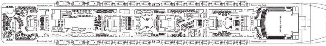 MSC Divina Deck 7 - Apollo
