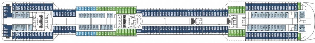 MSC Divina Deck 8 - Artemide