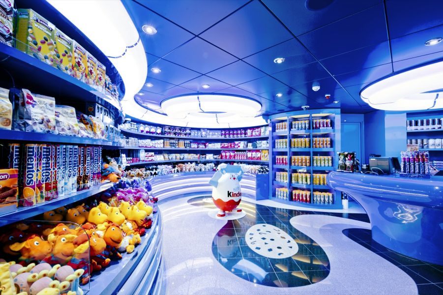MSC Divina-entertaiment-Sweet Shop