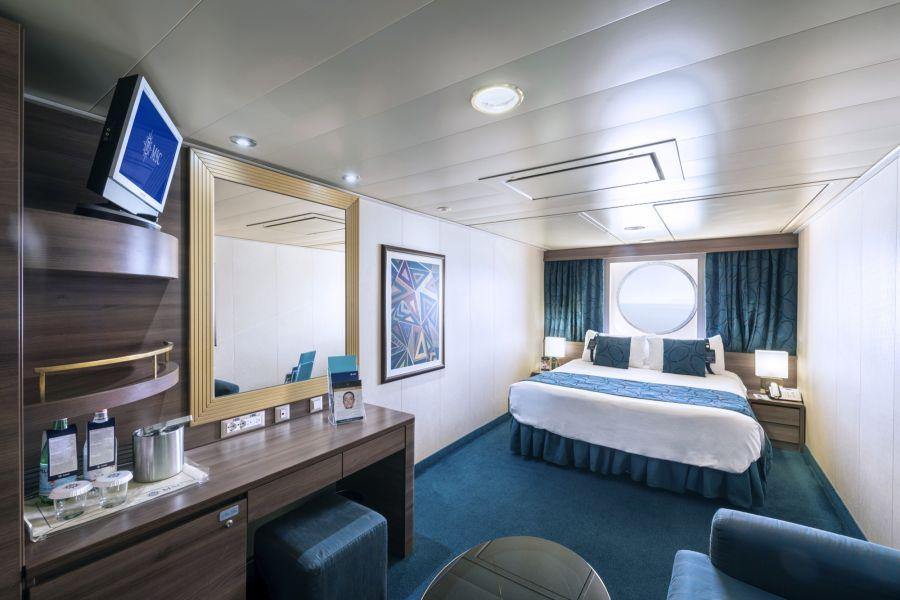 MSC Fantasia-stateroom-Ocean View Cabin