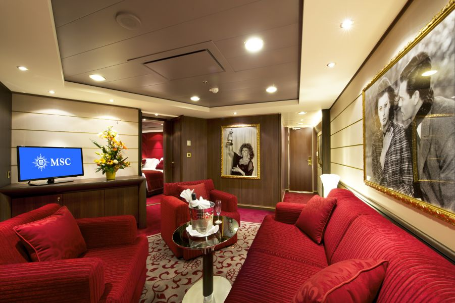 MSC Fantasia-stateroom-Royal Suite