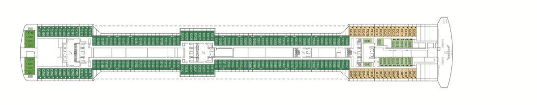 MSC Fantasia Deck 13 - Arcobaleno