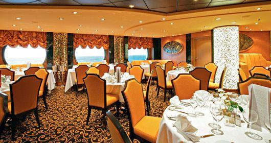 MSC Fantasia-dining-Il Cerchio d'Oro
