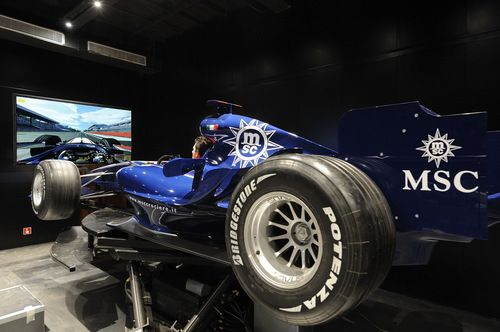 MSC Fantasia-entertaiment-F1 Simulator