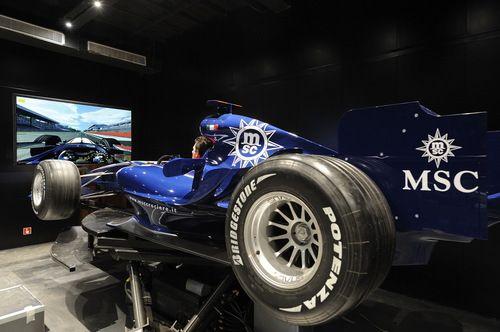 MSC Fantasia-entertaiment-F1 Simulator