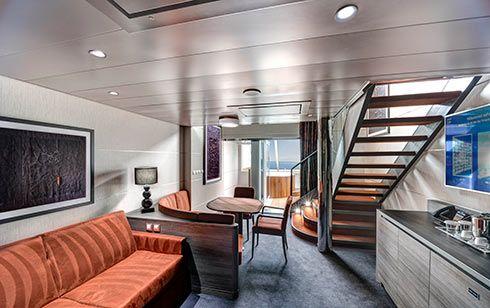 MSC Grandiosa-stateroom-Duplex Suite
