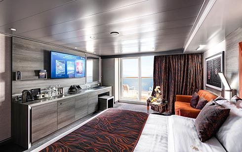MSC Grandiosa-stateroom-MSC Yacht Club Deluxe Suite