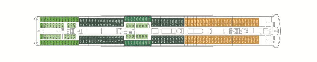 MSC Lirica Deck 10 - Bellini