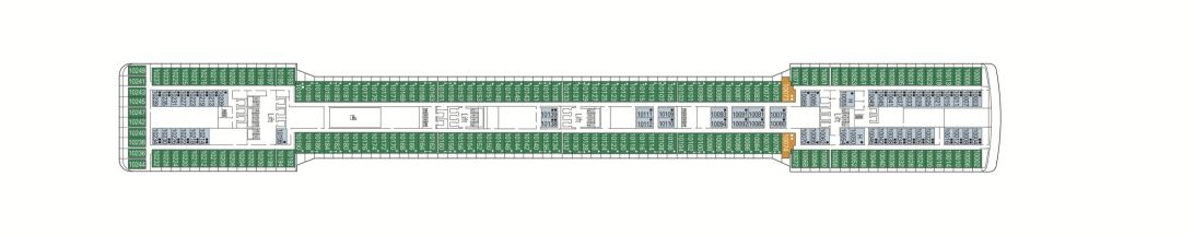 MSC Magnifica Deck 10 - Riccione