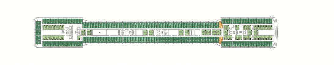 MSC Magnifica Deck 11 - Ischia
