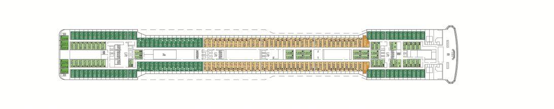 MSC Magnifica Deck 12 - Portovenere