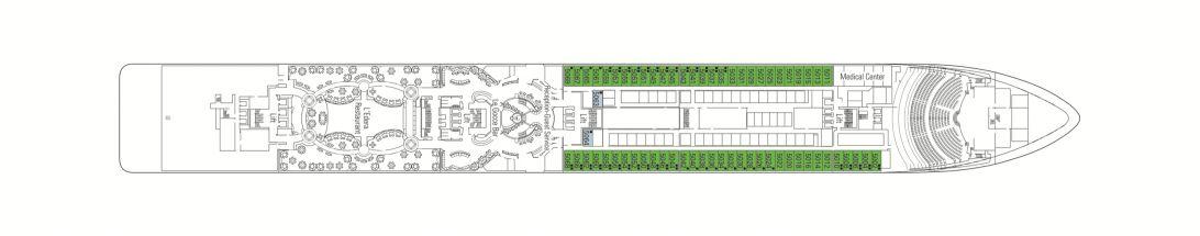 MSC Magnifica Deck 5 - Sorrento
