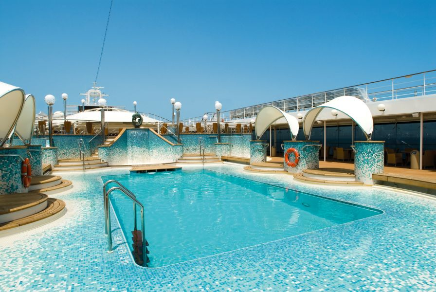 MSC Magnifica-health-and-fitness-The Pools