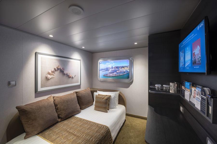 MSC Meraviglia-stateroom-Interior Studio