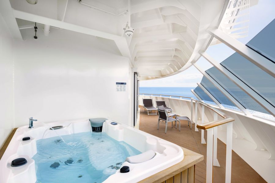 MSC Meraviglia-stateroom-Suite with Private Whirlpool