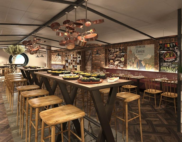 MSC Meraviglia-dining-HOLA! Tapas Bar by Ramón Frexia