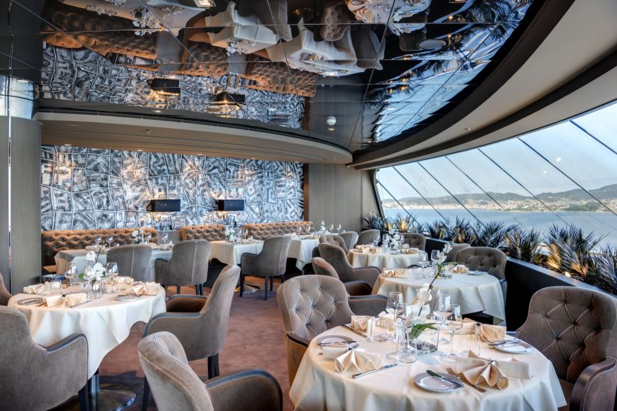 MSC Meraviglia-dining-MSC Yacht Club Restaurant