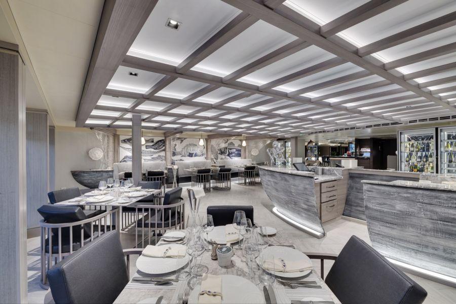 MSC Meraviglia-dining-Ocean Cay