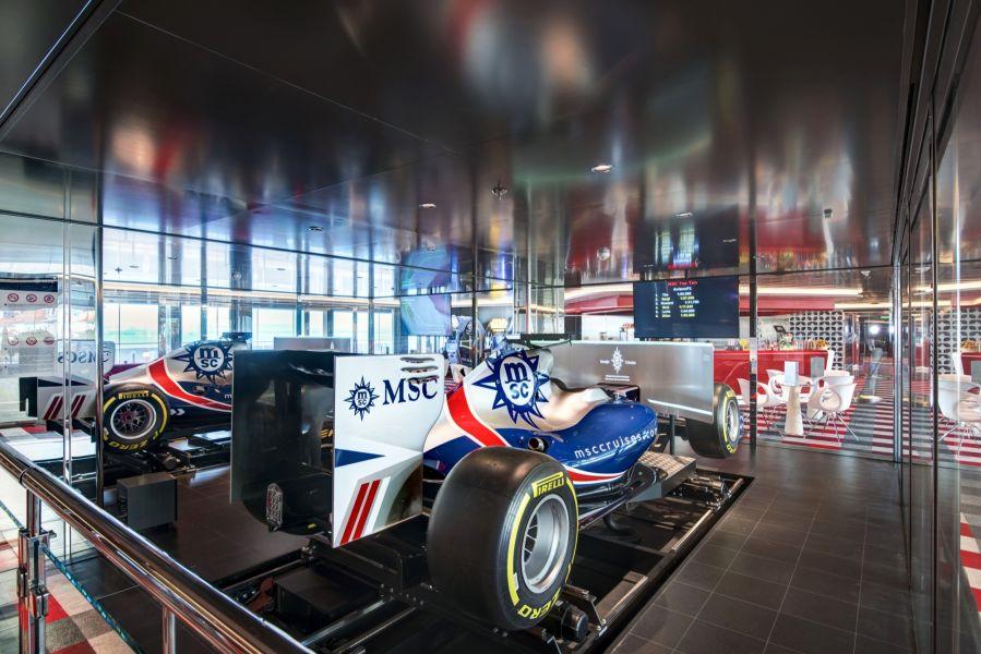 MSC Meraviglia-entertaiment-F1 Simulators