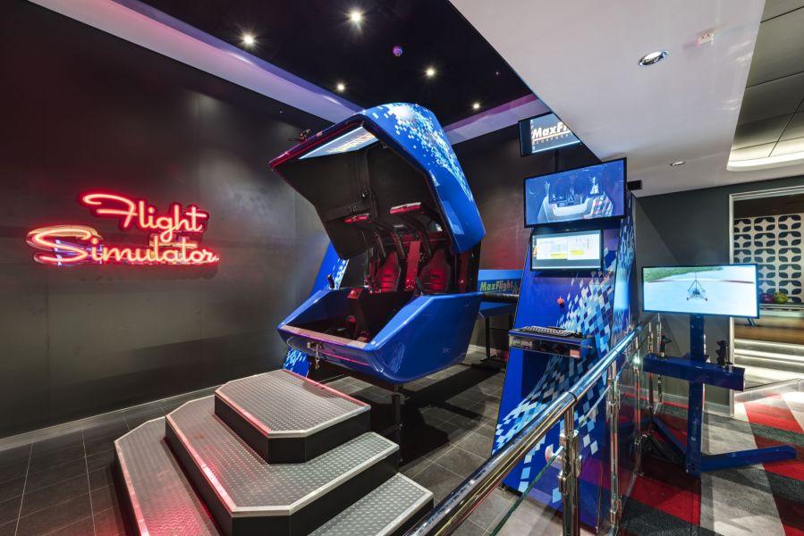 MSC Meraviglia-entertaiment-Flight Simulator
