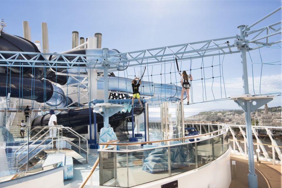 MSC Meraviglia-entertaiment-Polar Aquapark