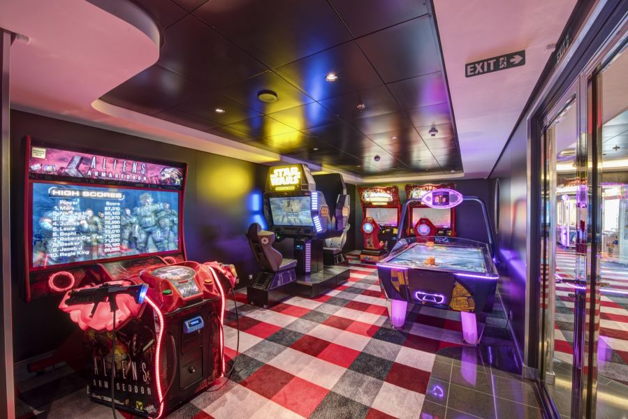 MSC Meraviglia-entertaiment-Virtual Games Arcade