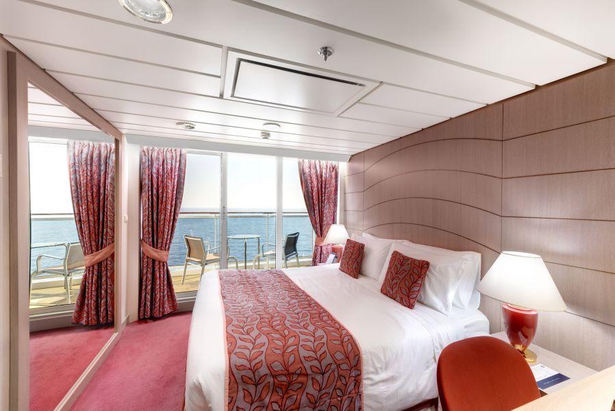 MSC Opera-stateroom-Balcony Cabin