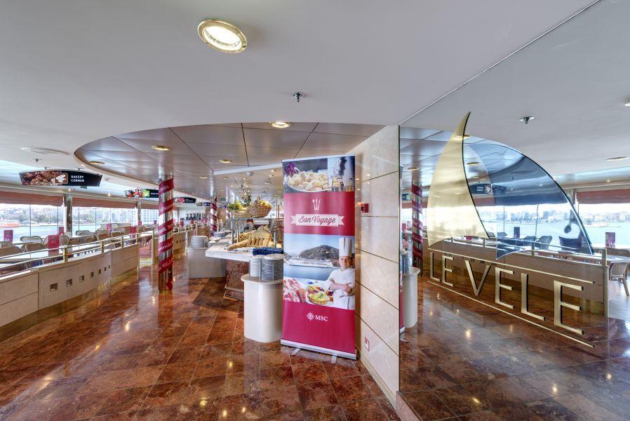 MSC Opera-dining-Buffet Restaurant