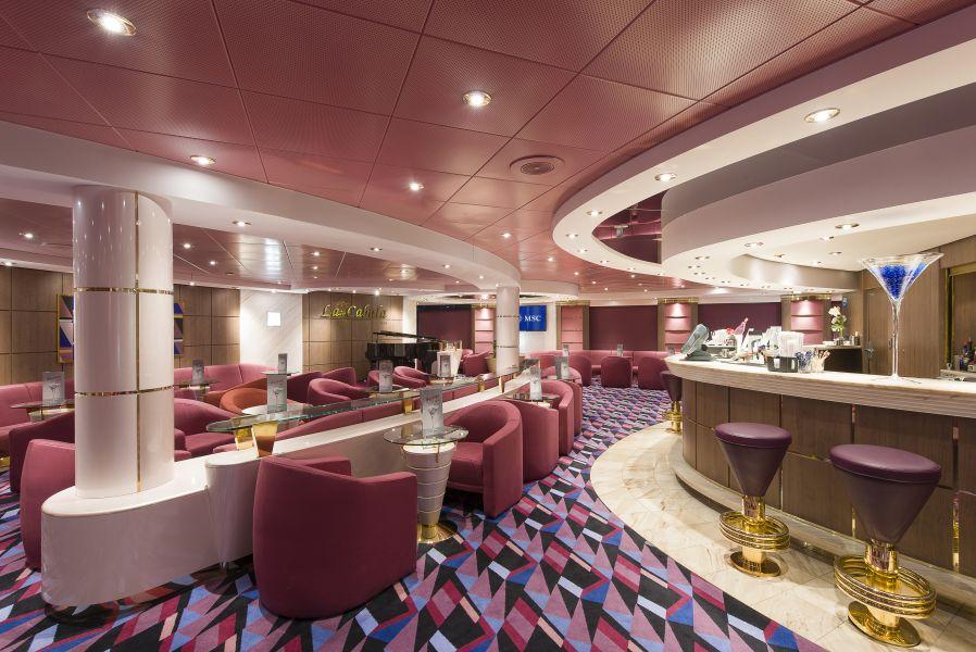 MSC Opera-entertaiment-La Cabala Piano Bar & Lounge