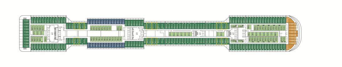 MSC Preziosa Deck 11 - Giada