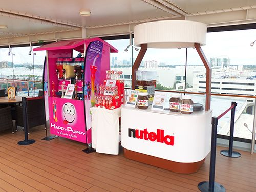 MSC Preziosa-dining-Nutella Corner and Happy Puppy Ice Cryst