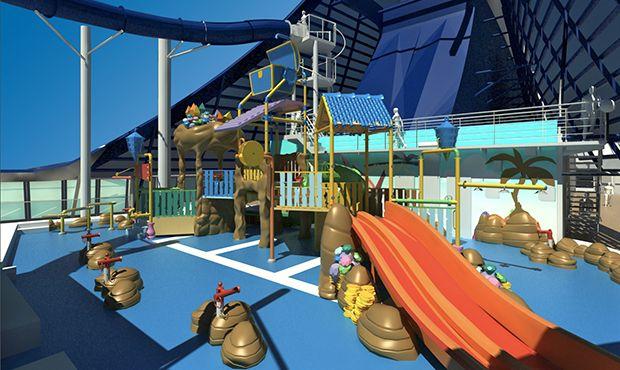 MSC Preziosa-kidsandteens-Doremi Castle Aqua Park Adventures (Kids Pool)