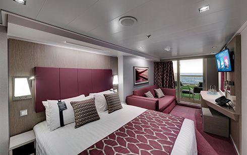 MSC Seaside-stateroom-Balcony