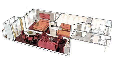 MSC Seaside-stateroom-Grand Suite