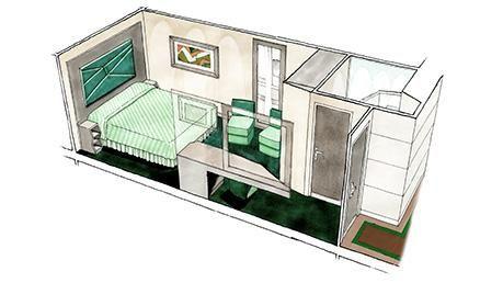 MSC Seaside-stateroom-Inside Stateroom