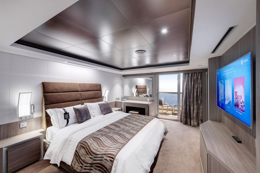MSC Seaside-stateroom-MSC Yacht Club Deluxe Suite