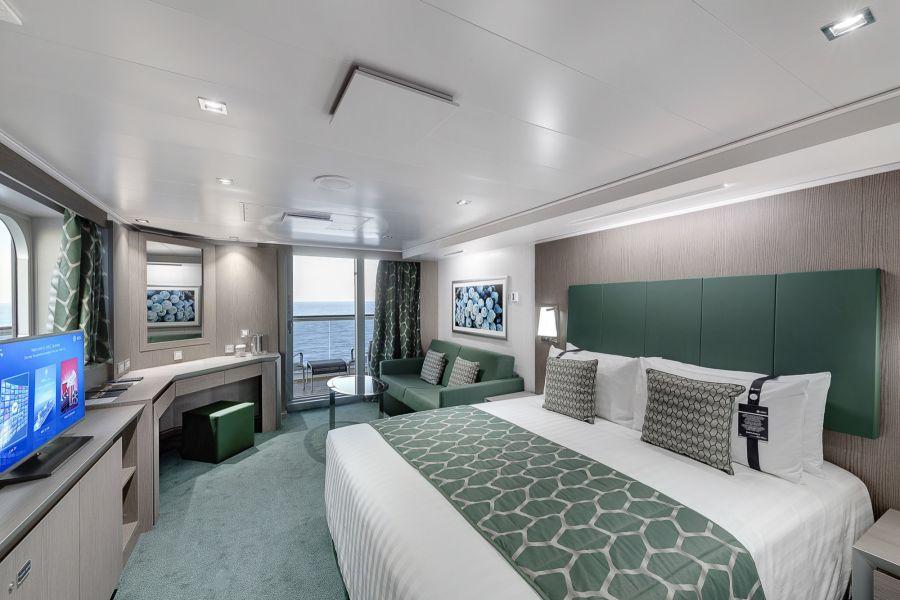 MSC Seaside-stateroom-Two Bedroom Grand Suite