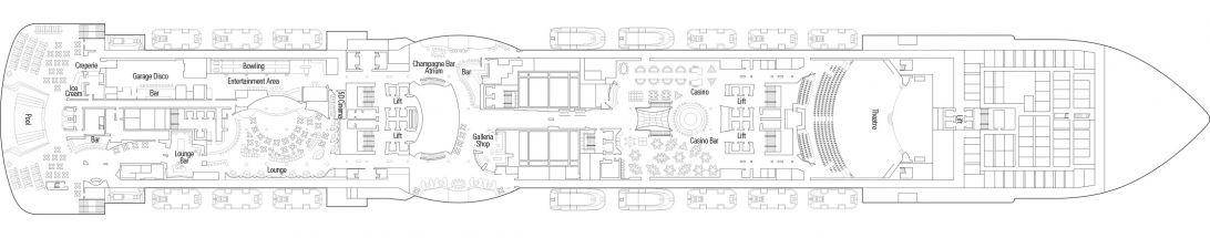 MSC Seaside Deck 7