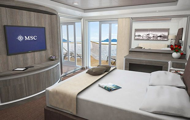 MSC Seaview-stateroom-MSC Yacht Club Royal Suite