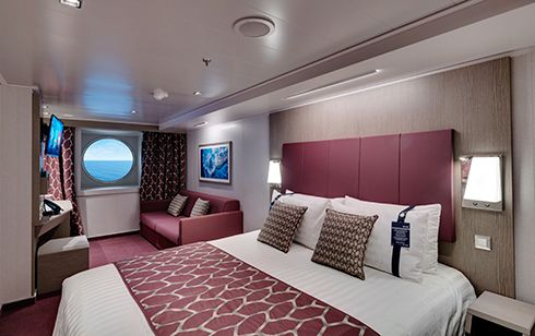 MSC Seaview-stateroom-Ocean View Cabin