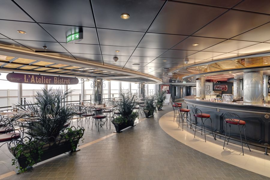 MSC Seaview-dining-Atelier Bistrot