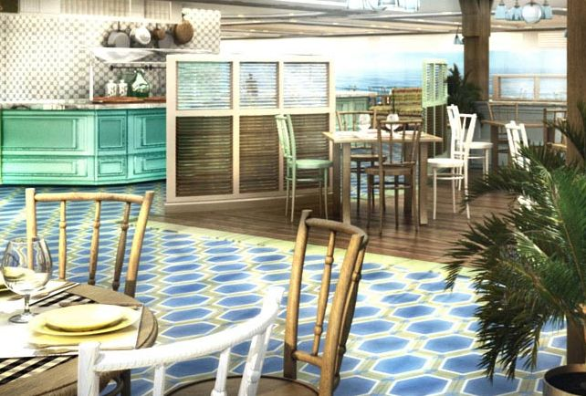 MSC Seaview-dining-Biscayne Bay Restaurant & Buffet